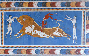 Minoan Bull Leapers